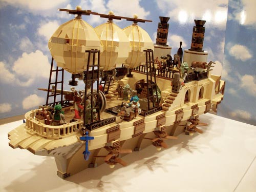 STEAM WARS: Jabba's Steampunk Barge by ACPin