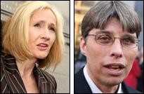 IMAGE: J.K. Rowling and Steven Vander Ark
