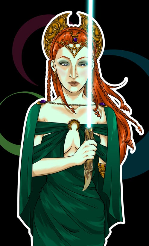 IMAGE: Queen Mother by Shea Standefer aka rurouni-jedi @ deviantart