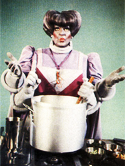 Harvey Korman as Chef Gormaanda in the Holiday Special