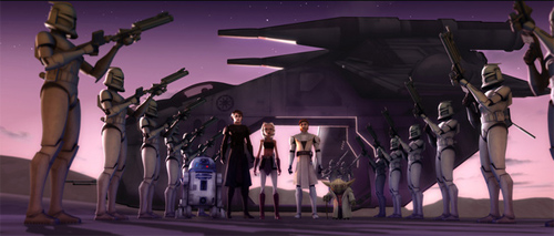 The Clone Wars lineup