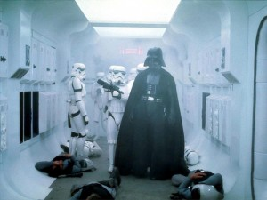 ANH: Vader's entrance