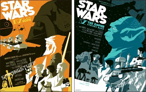 Posters by Tom Whalen / strongstuff.net