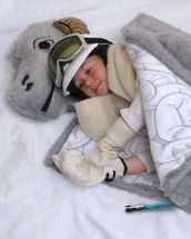 ThinkGeek's Tauntaun sleeping bag