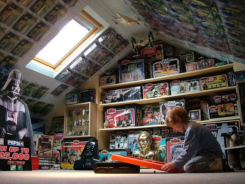 Star Wars loft by eyeSPIVE @ Flickr. Used with permission.