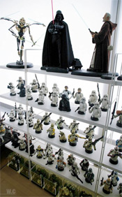 The Star Wars room of Cho Woong