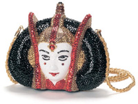 Fabulous Amidala beaded handbag.