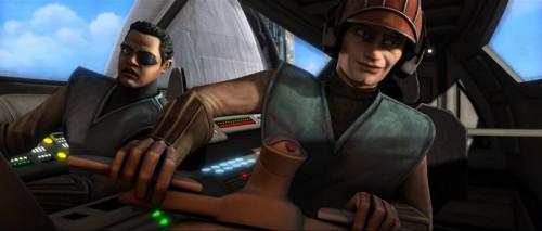 Smirky pilot Anakin