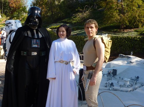 Skywalker family photo