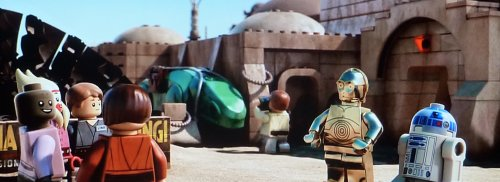 LEGO Star Wars -The Padawan Menace: Visiting Mos Eisley