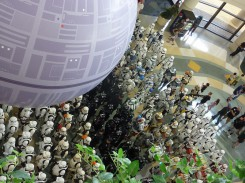 At the 501st group photo (James)