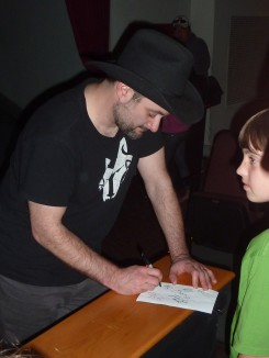 USO TCW Dave Filoni signing