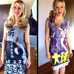Her Universe Hot Topic Star Wars dresses