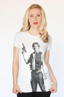 Han Solo Pose tee