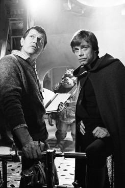 ROTJ director Richard Marquand and Mark Hamill