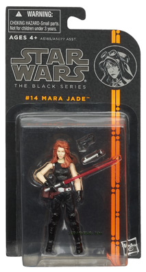 Hasbro's Black Series Mara Jade (carded)