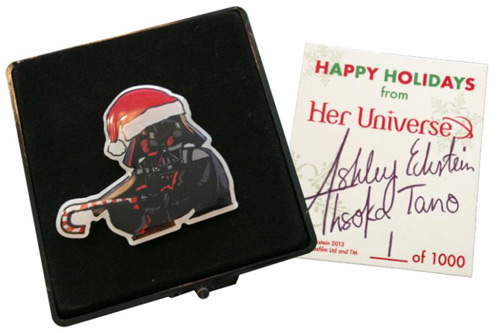 Her Universe '13 Christmas pin