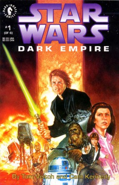 Dark Empire #1 - Dark Horse's first foray into the EU.