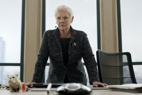 Dame Judy Dench in Skyfall