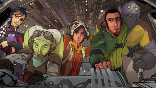 Rebels cast (concept art)
