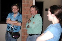 Aaron, Mike and Jennifer, GenCon 2005.